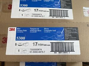 3m 5300 Blue Cleaner Pad 8410 Commercial Pk5