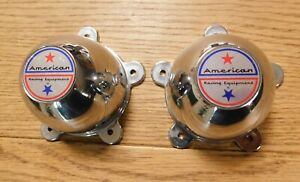 Pair Of American Racing Wheel Rim Chrome Center Cap Never Used 898008