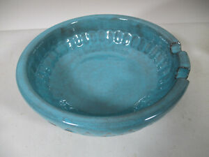 Vintage Mid Century Bagni Raymor Bitossi Italy Pottery Impressed Diamond Ashtray