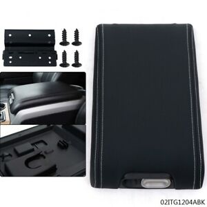 Center Console Arm Rest Lid Cover For 2009 2014 Ford F 150 Black New