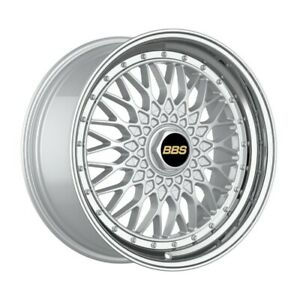 4 Wheels 18 Inch Silver With Polish Lip Rims Fits Ford Thunderbird 2002 2005