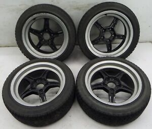 Bmw E34 M5 17 Style 21 M System Forged Wheels Oem
