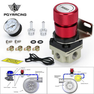 Red T2 Universal Adjustable Mbc Manual Gauge Turbo Boost Controller 1 150 Psi