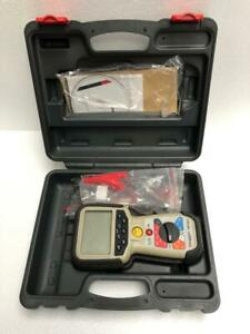 Megger Mit481 Telecom Insulation Tester With Case Accessories