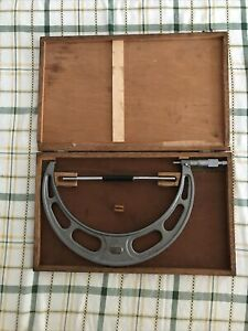 Nsk 250 275 0 01 Mm Micrometer Used In Box
