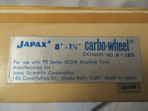 Japax 8 x1 1 2 Carbo wheel P 185 New Old Stock