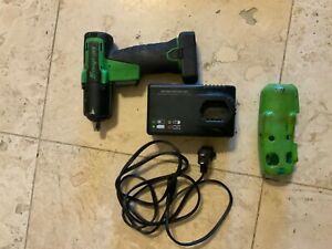 Snap On 3 8 Dr Green Cordless Impact Wrench With 1 Battery Plus Charger Ct761ag