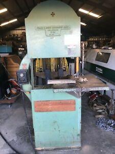 Frank E Jones Machinery 24 Bandsaw woodworking