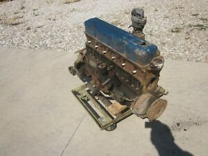 1956 Chevy Chevrolet 235 Core Engine Assembly Inline 6 Cyl 3836848