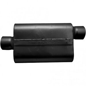 Flowmaster 30 Series Race Muffler 4 00 Offset In 4 00 Center Out Aggressiv
