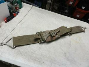 Vintage 1960s Aircraft Lap Seatbelt Harness Hot Rat Rod 1932 Ford Wwii Korea