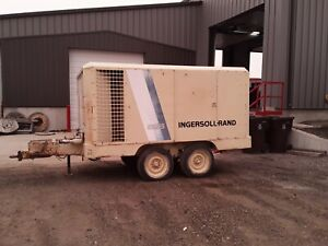 Ingersoll Rand 825 Cfm Portable Diesel Air Compressor 4259 Hours Serviced