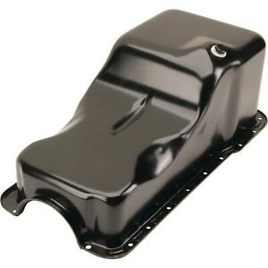 1962 1982 Small Block Ford 221 260 289 302 Oil Pan Front Sump Black