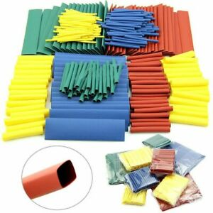 Tube Test Equipment Heat Shrink Tubing Assorted 2 1 Wire Wrap Kit Cable Sleeve