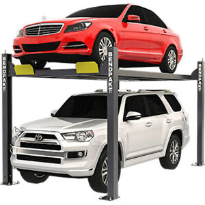 Bendpak 5175510 Four post Vehicle Lift 7 000 Lbs Narrow