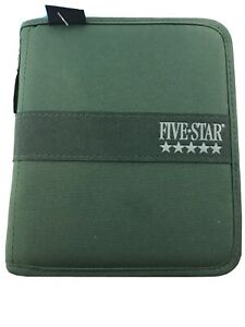 Mead 5 Five Star First Gear Fat Little Day Planner Organizer Green 7x6 Vintage