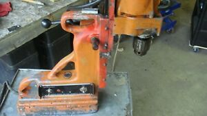 Milwaukee Magnetic Drill Press Model 4260 1 3 4 Super Hole Shooter Nr