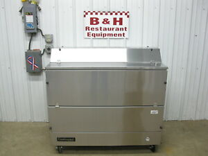 Continental Refrigerator Mc4 ss d 49 Stainless Dual Side Forced Air Milk Cooler