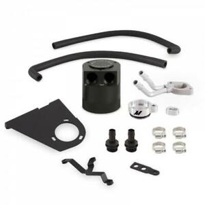 Mishimoto Baffled Oil Catch Can Kit For 17 20 Ford 6 7l Powerstroke