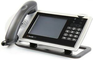 Shoretel 655 Silver Voip Business Office Desktop Phone With Handset Used
