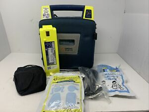 Cardiac Science Powerheart Aed G3 Pro Case Instructions Exp Pad Battery Mw00
