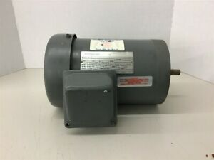 Sterling Electric 1 Hp Ac Motor 208 230 460 Volts 1725 Rpm 4p 56c Frame