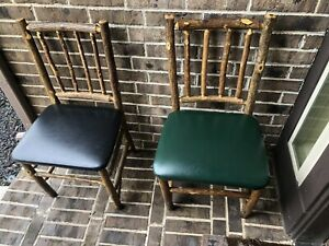 Old Hickory Furniture Co Rustic Tavern Chairs