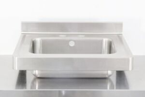 Used 22 Stainless Steel Hand Sink 560014