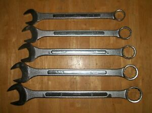 Giant Combination Wrench Set 1 1 2 To 2 5 Wrenches