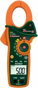 Extech Ex820 Clamp Meters Type Standard Style True Rms Yes