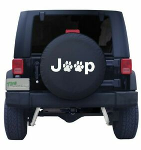 Dog Paws Tire Cover Fit For Jeep Wrangler 17 Size Xl Wheel Tire Cover 31 32