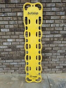 Nice Used Yellow Laerdal Baxstrap Spineboard 12 Pins Backboard