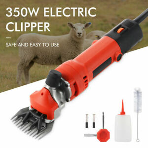 Heavy Duty Electric Shearing Clippers 6 Speed Sheep Goat Farm Machine 350w St020