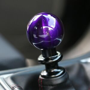 Ssco Candy Purple Sr 55mm 190 Grams Weighted Shift Knob Shifter Sphere
