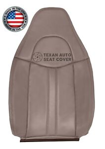 2003 2014 Chevy Express Shuttle Bus Ambulance Driver Lean Back Seat Cover Tan