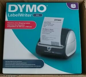 New Dymo Labelwriter 4xl Shipping Label Printer Direct Thermal W Box Of Labels