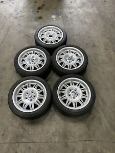 E36 Bmw M3 Ds1 Ds2 Complete Set Of Wheels And Tires Spare