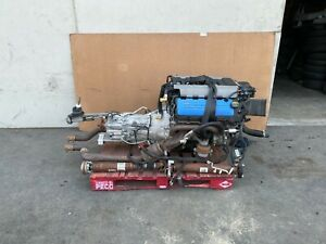 Ford Mustang Gt 2015 2017 Oem Engine W Manual Transmission Swap complete 40k