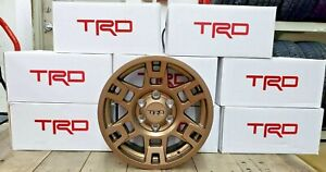 17 Bronze Toyota Trd Pro Wheels Toyota Tacoma 4runner Fj Cruiser Set Of 4