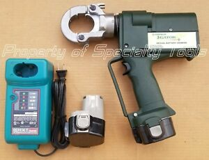 Greenlee Gator Ek22gl Battery Hydraulic Crimper Ek22 6 Ton Crimping Tool