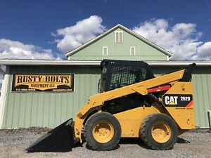 2017 Caterpillar 262d Xps Skid Loader Enclosed 2 Speed high Flow Low Cost Ship