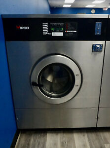 Ipso 75lb Coin Op 1ph Commercial Washer Unimac Speed Queen Laundromat We304c