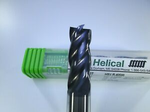 New Helical Solid Carbide 1 2 End Mill 4 Flute Edp 30527 Titanium Milling Tool