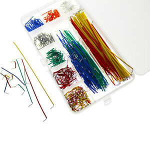 140 Pcs U Shape Solderless Breadboard Jumper Cable Wire Kit For Shield Raspberry