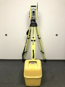 Trimble S6 Robotic Total Station 5 Sec Dr 300 W case Prism Battery Rts Sps