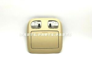 Ford Escape Roof Map Lights Console Tan 6h63 54519a58 01 02 03 04 05 06 07 08