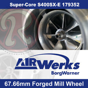 Borg Warner S400sx Super Core Turbo 67mm Inducer Forged Mill Wheel Brand New