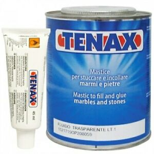 Tenax Flowing Transparent Polyester w hardener Tube 1 Liter