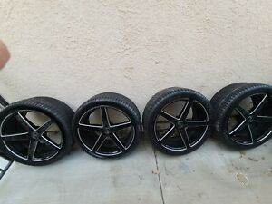 22 Inch Black Rims And Tires
