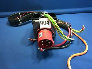 Hubbell 5125b6w Pin And Sleeve Iec Inlet 125a